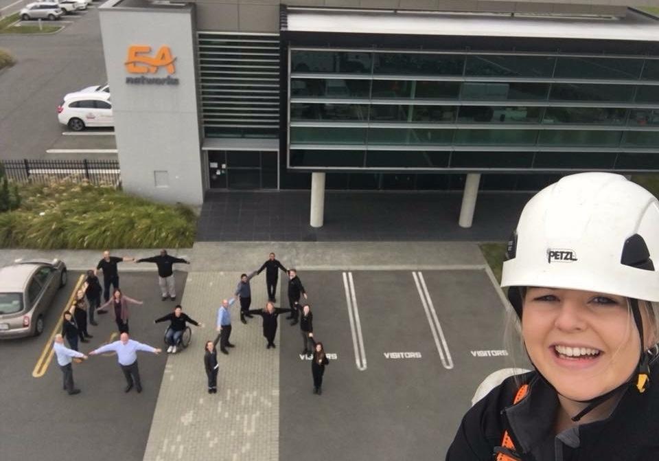 EA Networks Selfie