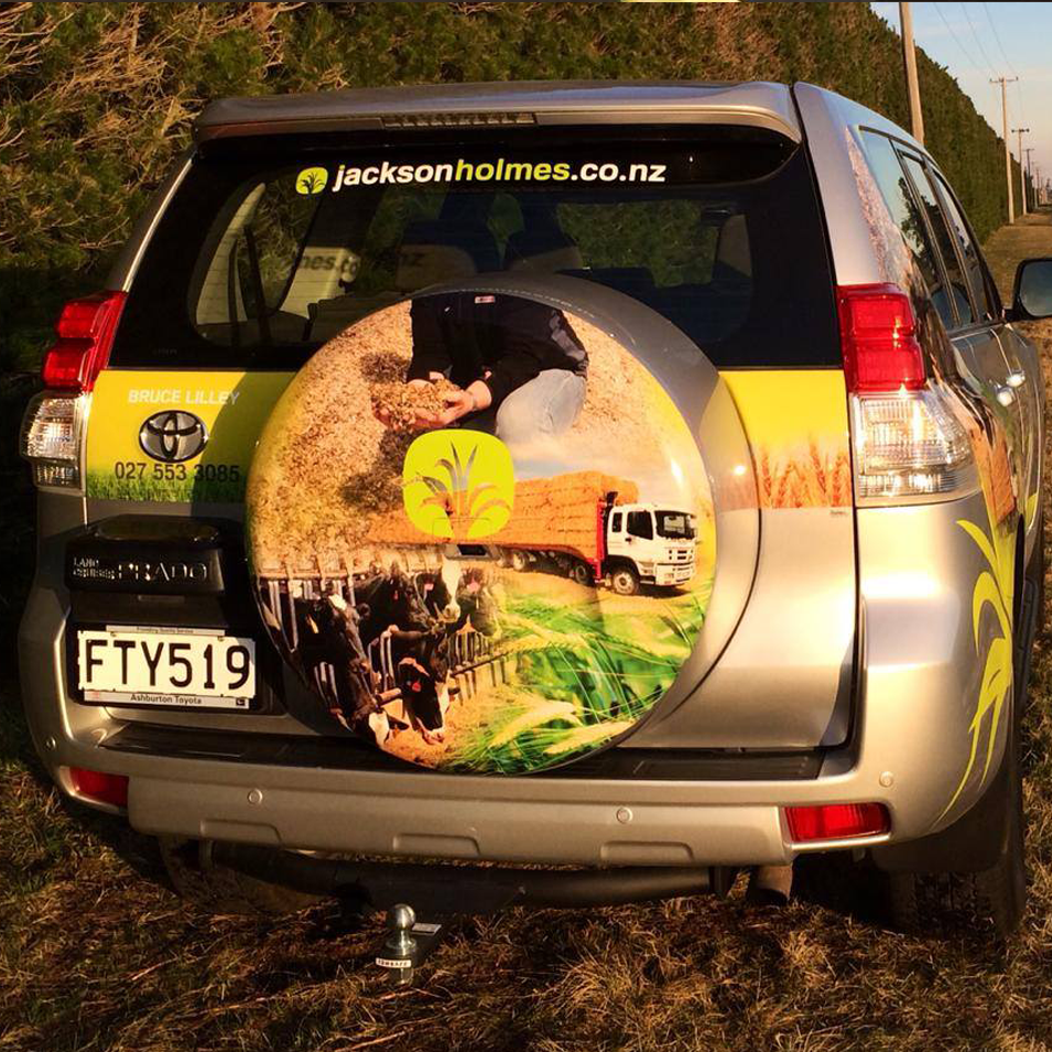 JFM Marketing + Design | JacksonHolmes - Vehicle Signage