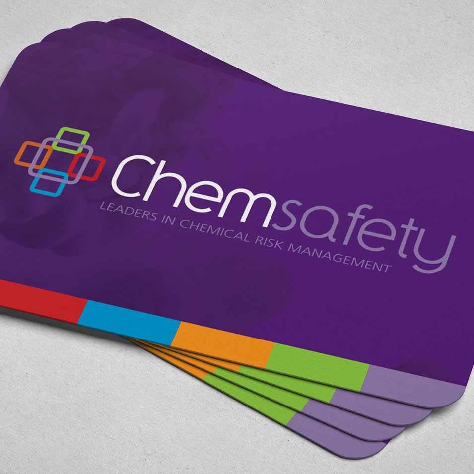 JFM Marketing + Design | Brand Identity/Logo Design Chemsafety