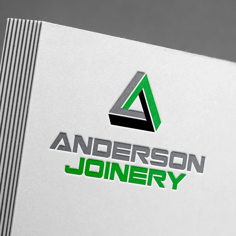 JFM Marketing + Design | Brand Identity/Logo Design Anderson Joinery