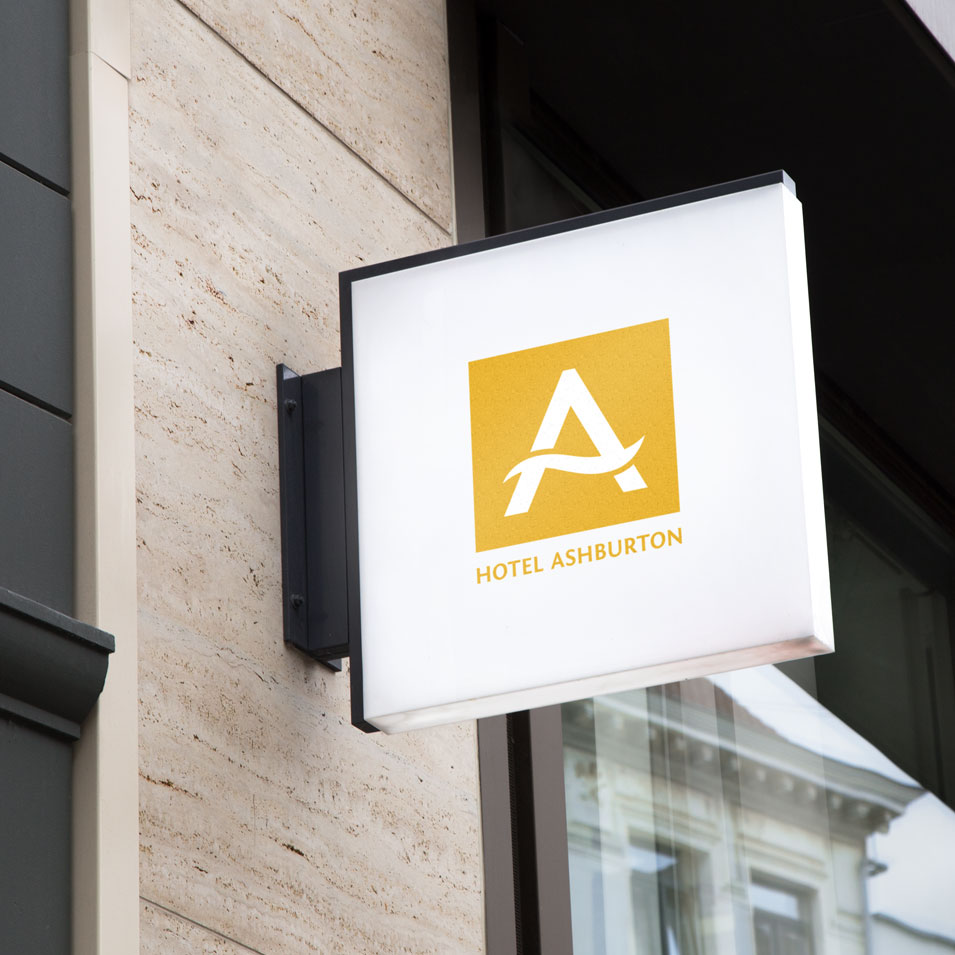 JFM Marketing + Design | Brand Identity/Logo Design Hotel Ashburton