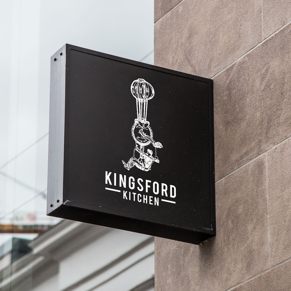 JFM Marketing + Design | Brand Identity/Logo Design Kingsford Kitchen