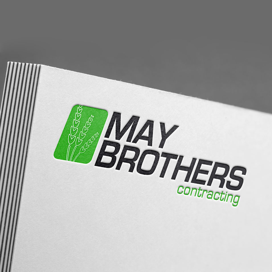 JFM Marketing + Design | Brand Identity/Logo Design May Brothers Contracting