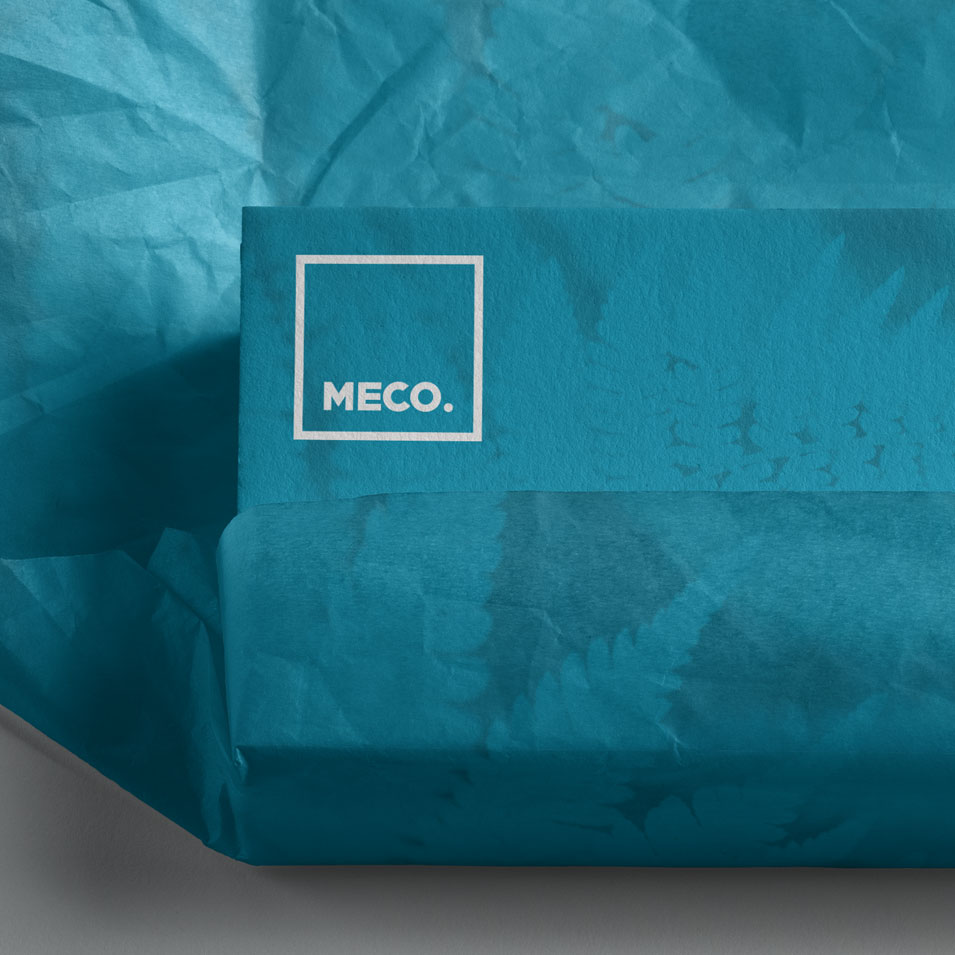JFM Marketing + Design | Brand Identity/Logo Design Meco