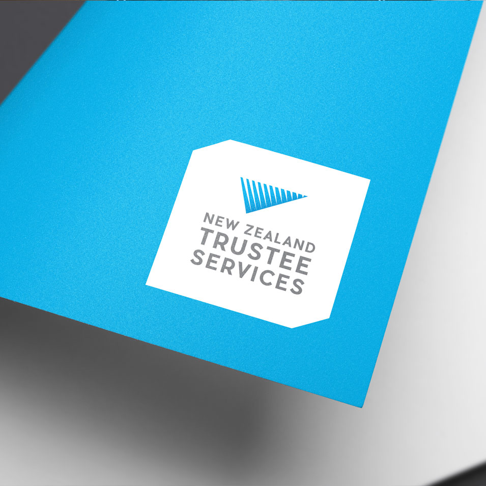 JFM Marketing + Design | Brand Identity/Logo Design NZTS New Zealand Trustee Services