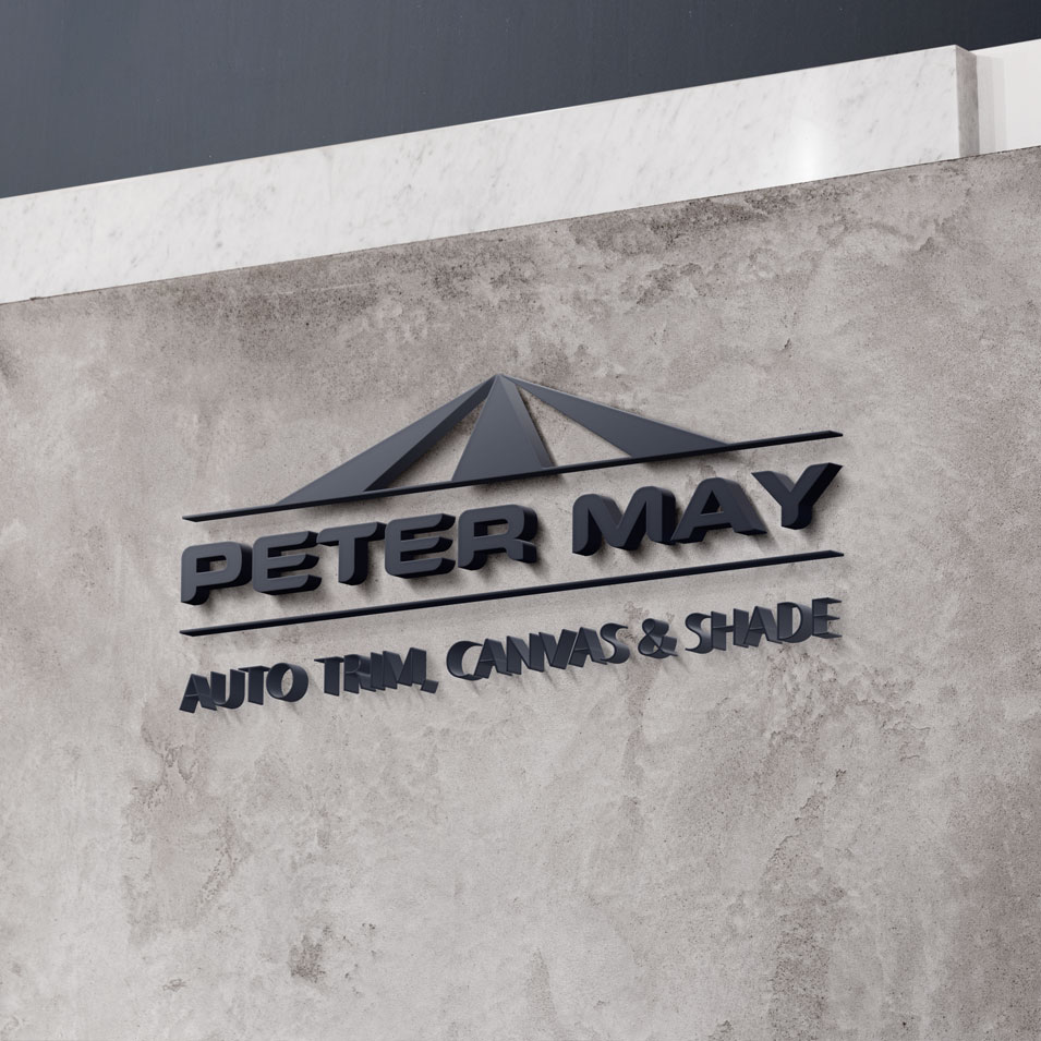 JFM Marketing + Design | Brand Identity/Logo Design Peter May
