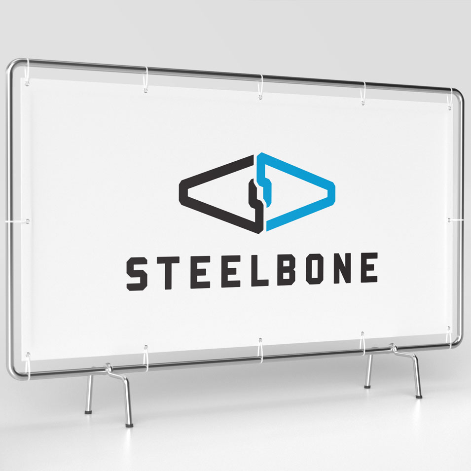 JFM Marketing + Design | Brand Identity/Logo Design Steelbone