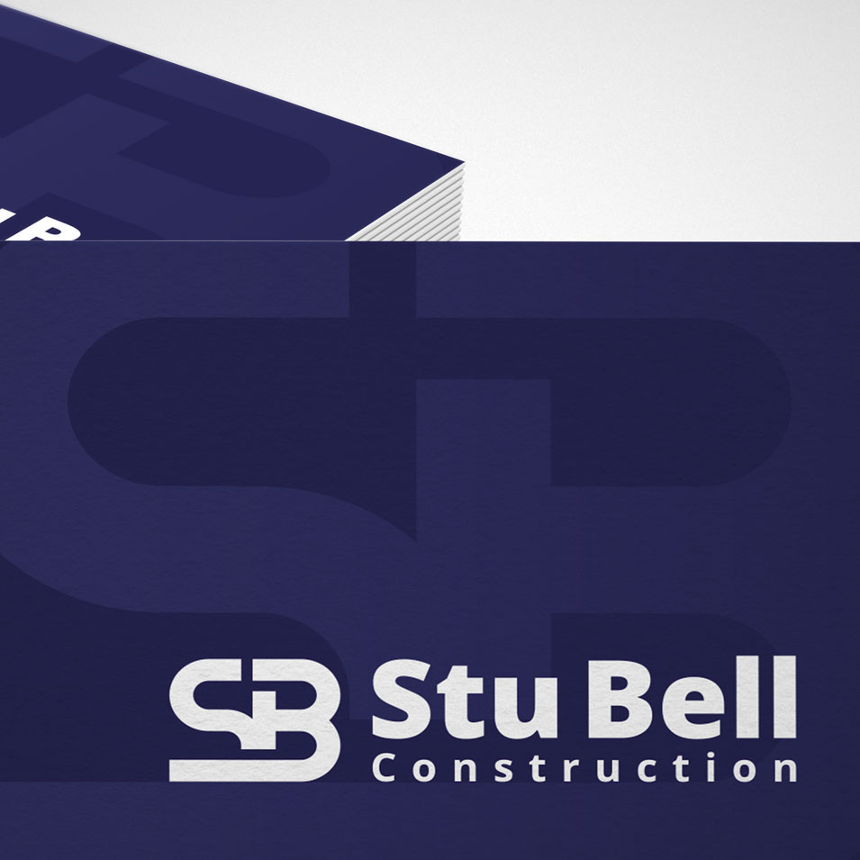 JFM Marketing + Design | Brand Identity/Logo Design Stu Bell Construction
