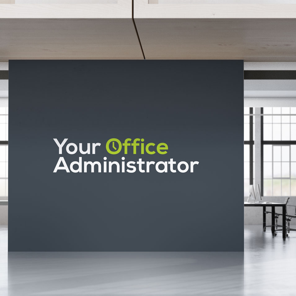 JFM Marketing + Design | Brand Identity/Logo Design Your Office Administrator