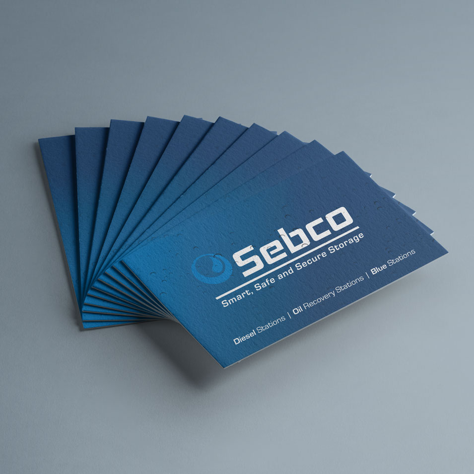 JFM Marketing + Design | Business Cards - Sebco