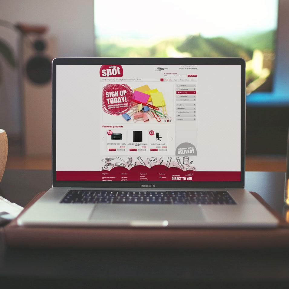 JFM Marketing + Design | eCommerce Websites - Office Spot