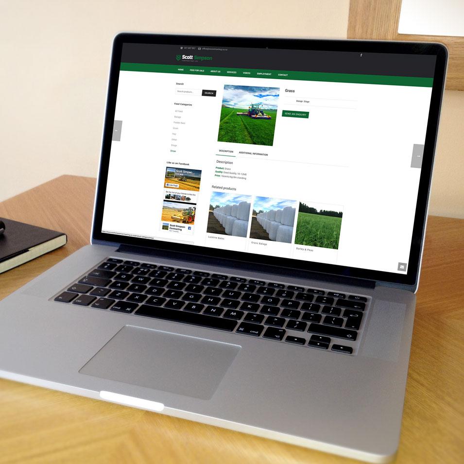 JFM Marketing + Design | eCommerce Websites - Scott Simpson Contracting