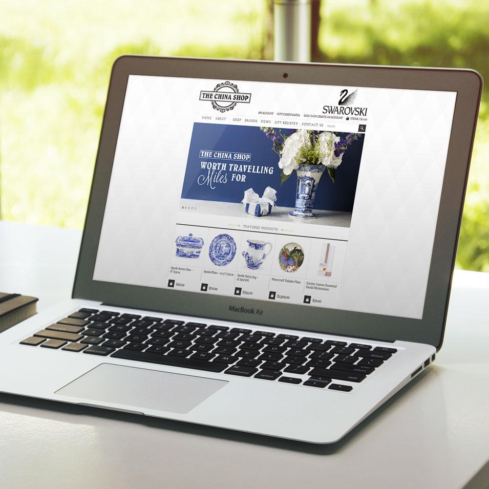 JFM Marketing + Design | eCommerce Websites - The China Shop