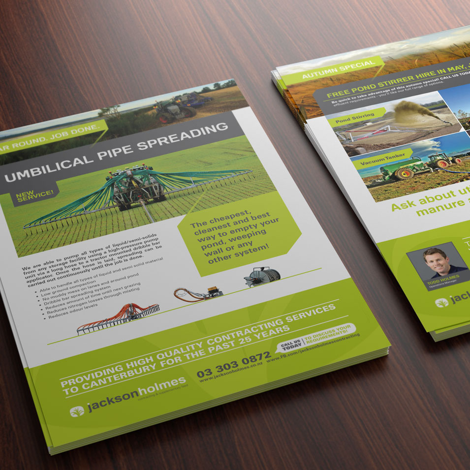 JFM Marketing + Design | Brochures Flyers - JacksonHolmes