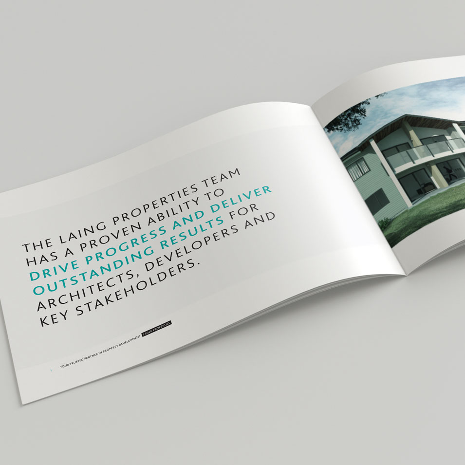 JFM Marketing + Design | Brochures Flyers - Laing 3
