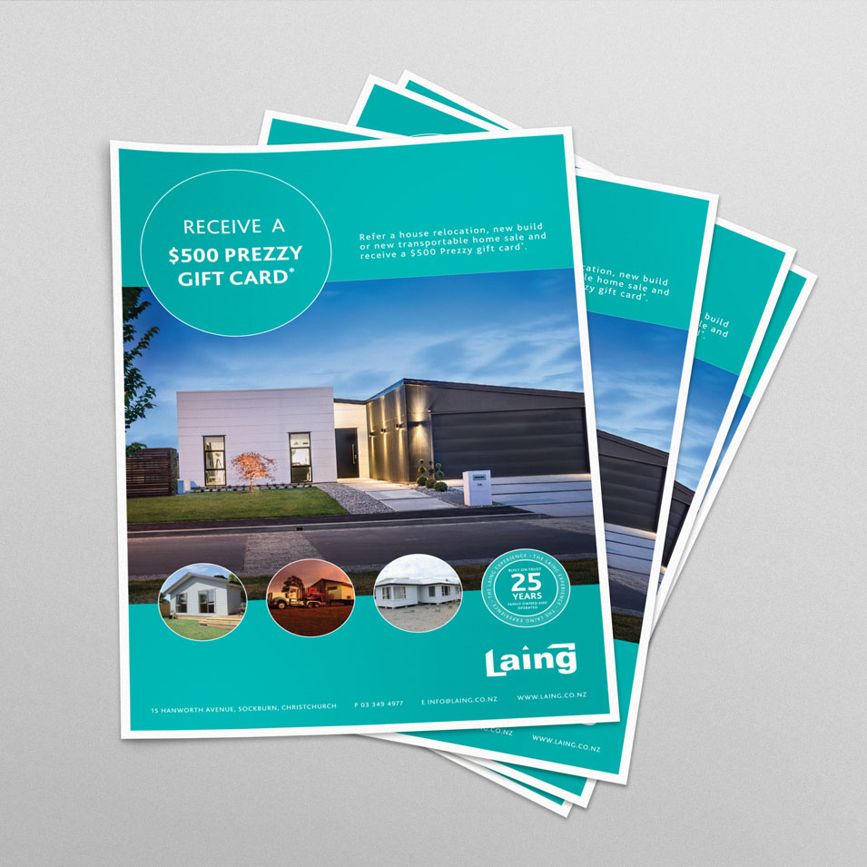 JFM Marketing + Design | Brochures Flyers - Laing 2