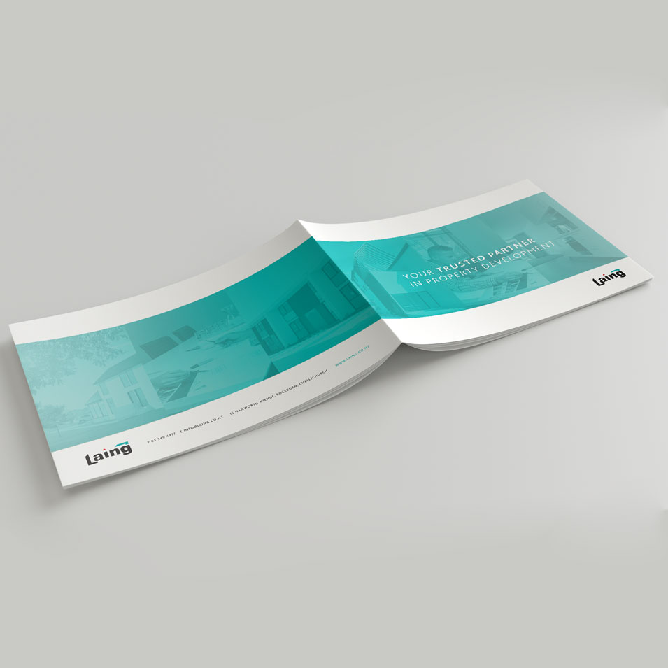 JFM Marketing + Design | Brochures Flyers - Laing