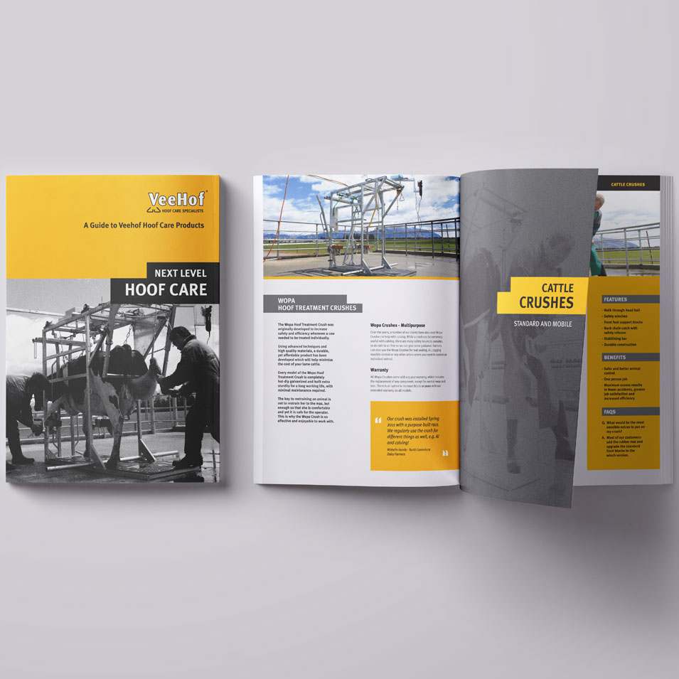 JFM Marketing + Design | Brochures Flyers - Veehof