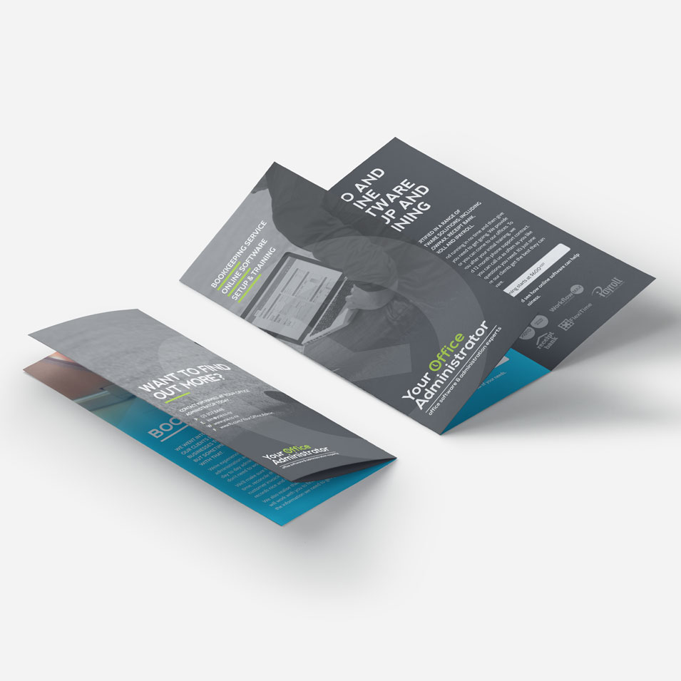 JFM Marketing + Design | Brochures Flyers - Your Office Administrator