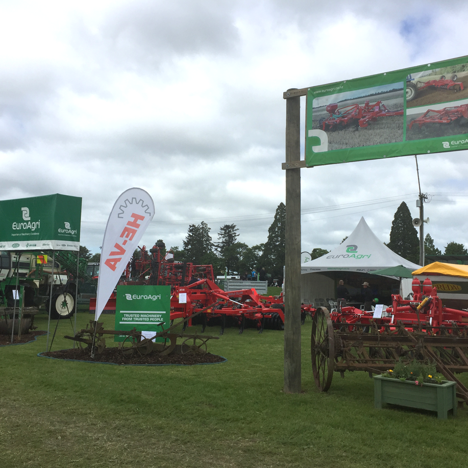 JFM Marketing + Design | EuroAgri Field Days Signage