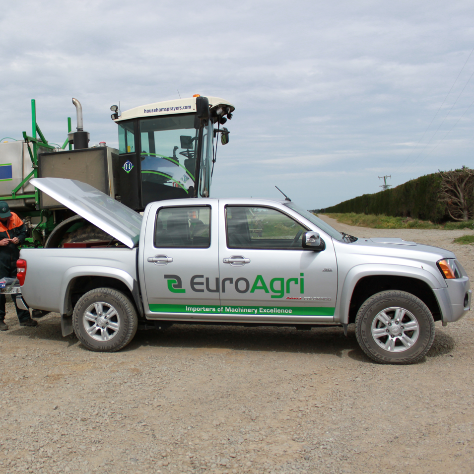 JFM Marketing + Design | EuroAgri Vehicle Signage