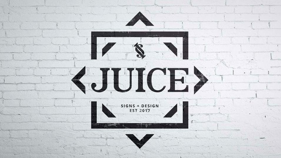 JFM Marketing + Design - Juice Signs & Design Logo