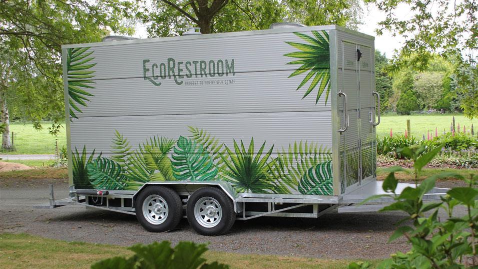 JFM Marketing + Design - Eco Restroom | Logo & Signage